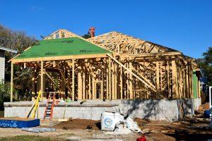 Charleston SC New Home Framing