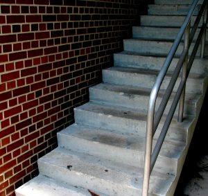 Charleston SC Brick Steps