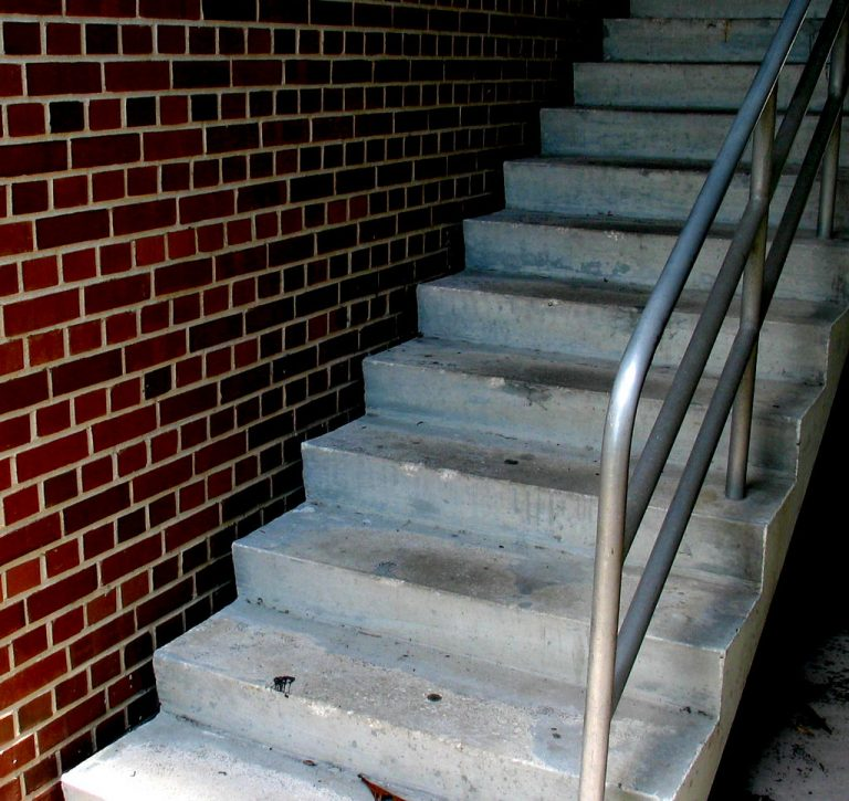 Charleston SC Brick Steps